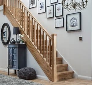 Timber Loft Staircase